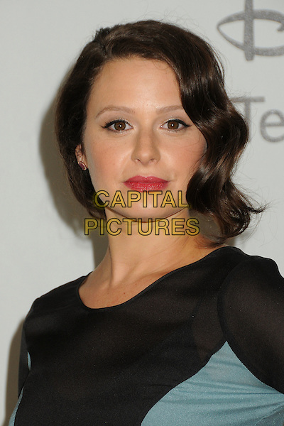 Katie Lowes.Disney ABC Television Group 2012 TCA Summer Press Tour Party held at the Beverly Hilton Hotel, Beverly Hills, California, USA, 27th July 2012..portrait headshot sheer blue black .CAP/ADM/BP.©Byron Purvis/AdMedia/Capital Pictures.