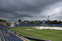 Gloomy overhead at Sophia Gardens early morning during Afghanistan vs Sri Lanka, ICC World Cup Cricket at Sophia Gardens Cardiff on 4th June 2019