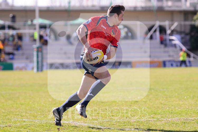 Spain's Jordi Jorba during Rugby Europe Championship 2017 match between Spain and Belgium in Madrid. March 18, 2017. (ALTERPHOTOS/Borja B.Hojas)
