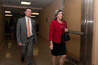 United States Senator Joni Ernst (Republican of Iowa) makes her way to the Senate Floor on Capitol Hill in Washington D.C., U.S. on July 31, 2019. Photo Credit: Stefani Reynolds/CNP/AdMedia