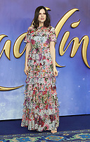 Lilah Parsons at the Aladdin European Gala Screening at the Odeon Luxe Leicester Square, London on May 9th 2019<br /> CAP/ROS<br /> ©ROS/Capital Pictures