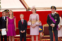 Belgian Royal family attends the military Parade on Belgian National Day - Belgium