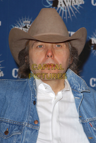 DWIGHT YOAKAM.2006 CMT Music Awards held at The Curb Event Center at Belmont University, Nashville, Tennessee, USA - Pressroom..April 10th, 2006.Photo: George Shepherd/AdMedia/Capital Pictures.Ref: GS/ADM.headshot portrait hat stetson.www.capitalpictures.com.sales@capitalpictures.com.© Capital Pictures.