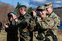 WEST POINT, EUA, 10/04/2019 - COMPETIÇAO-MILITAR -  Soldados da equipe da Alemanha durante preparação para o Sandhurst West Point 2019 na U.S Military Academy na cidade de West Point nos Estados Unidos nesta quarta-feira, 10. (Foto: Vanessa Carvalho/Brazil Photo Press/Folhapress)