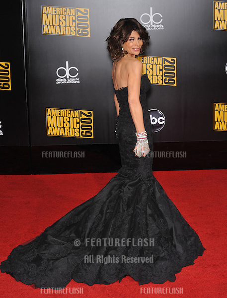 Paula Abdul at the 2009 American Music Awards at the Nokia Theatre L.A. Live..November 22, 2009  Los Angeles, CA.Picture: Paul Smith / Featureflash