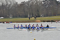 393 Canford Sch BC IM3.8+..Marlow Regatta Committee Thames Valley Trial Head. 1900m at Dorney Lake/Eton College Rowing Centre, Dorney, Buckinghamshire. Sunday 29 January 2012. Run over three divisions.