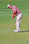 27 August 2009: Chris DiMarco putts during the first round of The Barclays PGA Playoffs at Liberty National Golf Course in Jersey City, New Jersey.