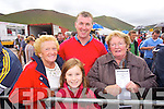 Kathleen O'Sullivan, Leona Clifford, Gerard Clifford and Katie McCarthy (all Glenbeigh) pictured at Glenbeigh races on Sunday last.