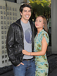 Courtney Ford and Brandon Routh at The HBO Premiere of the 4th Season of True Blood held at The Arclight Cinerama Dome in Hollywood, California on June 21,2011                                                                               © 2010 Hollywood Press Agency