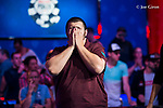 Scott Blumstein is emotional after making the main event final table.