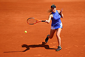 4th June 2017, Roland Garros, Paris, France; French Open tennis championships;   ELINA SVITOLINA (UKR)  during day seven match of the 2017 French Open on June 4, 2017, at Stade Roland-Garros in Paris, France.