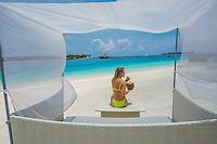 Maldives beach scenics