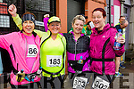 Kerry O'Connor, Joan O'Keeffe, Kerry O'Mahoney  and Donna O'Mahony at the start of the Kerry's Eye Tralee, Tralee Half Marathon on Saturday.