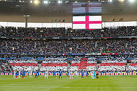 The Teams stand in remembrance of those who lost there lives in the Britsh terror attacks during the International Friendly match between France and England at Stade de France, Paris, France on 13 June 2017. Photo by David Horn/PRiME Media Images.