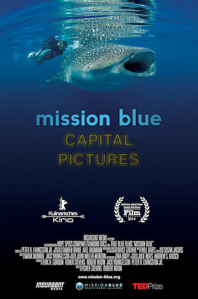 POSTER ART<br /> in Mission Blue (2014) <br /> *Filmstill - Editorial Use Only*<br /> CAP/NFS<br /> Image supplied by Capital Pictures