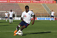 Edward Nketiah of Arsenal and England U21's in action during Mexico Under-21 vs England Under-21, Tournoi Maurice Revello Final Football at Stade Francis Turcan on 9th June 2018