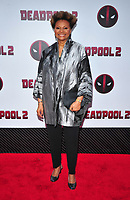 New York, NY - May 14: Leslie Uggams attends the 'Deadpool 2' screening at AMC Loews Lincoln Square on May 14, 2018 in New York City..  <br /> CAP/MPI/PAL<br /> &copy;PAL/MPI/Capital Pictures