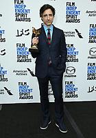 08 February 2020 - Santa Monica - Noah Baumbach. 2020 Film Independent Spirit Awards - Press Room held at Santa Monica Pier. Photo Credit: Birdie Thompson/AdMedia