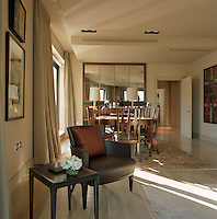 View towards the dining area of the open-plan living/dining room