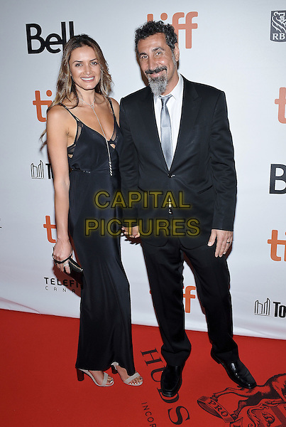 11 September 2016 - Toronto, Ontario Canada - Serj Tankian, Angela Madatyan. &quot;The Promise&quot; Premiere - 2016 Toronto International Film Festival held at Roy Thomson Hall. <br /> CAP/ADM/BPC<br /> &copy;BPC/ADM/Capital Pictures