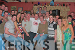 Declan Ryan, from Kilmoyley seated with the brown top celebrated his 21st birthday in An Tochar Ban Bar Kilmoyley with family and friends on Saturday night.      Copyright Kerry's Eye 2008