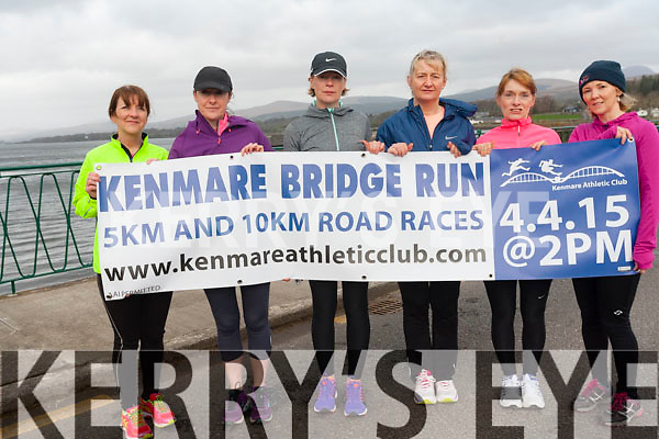 The Kenmare Bridge Run is back this year on April 4th with a 5km and 10km race. <br /> L-R Ruth Murphy, Karen Coakley, Aoife Daly, Phyllis Crowley, Joan Wallace and Siobhan Cronin.