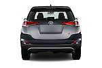 Straight rear view of 2016 Toyota RAV4 Business Edition Plus 5 Door Suv Rear View  stock images