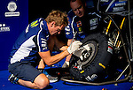The box during free practice on friday at the circuit Sachenring. MotoGP. Germany. 11/07/2014. Samuel de Roman / Photocall3000