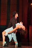 """Flavia Cacace dancing with Giraldo Diomar. """"Midnight Tango"""" with """"Strictly Come Dancing"""" Stars Flavia Cacace and Vincent Simone opens at the Aldwych Theatre, London. Photo credit: Bettina Strenske"""