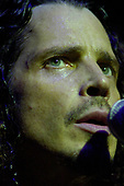 Chris Cornell (Jul 20, 1964 - May 17, 2017) - performing live at The Riveria Theatre in Chicago, Illinois.USA - <br /> April 19,2009<br /> .  Photo credit: Gene Ambo/IconicPix