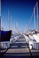 Row of Sailboats, Luxury Yaches, Docked, Ca, USA, Vertical, South Bay, SoCal, Motor Boating, Power Yachts,