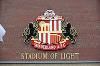 Pictured: Sunderland AFC, Stadium Of Light exterior view. Sunday 11 May 2014<br />