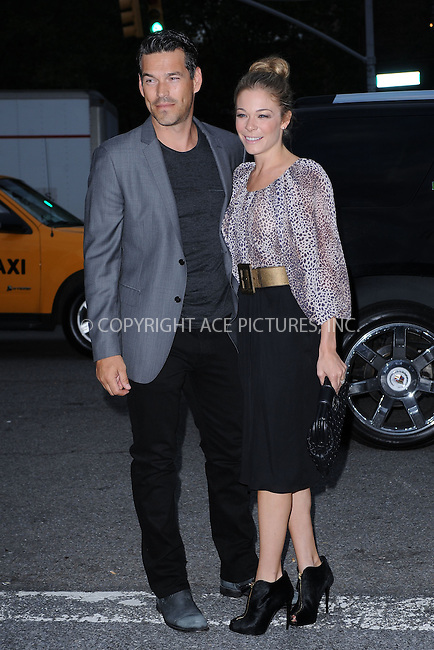 WWW.ACEPIXS.COM . . . . . .September 10, 2011 New York City....Eddie Cibrian; Leann Rimes attend the Monique Lhuillier Spring 2012 fashion show during Mercedes-Benz Fashion Week at The Theater at Lincoln Center on September 10, 2011 in New York City....Please byline: KRISTIN CALLAHAN - ACEPIXS.COM.. . . . . . ..Ace Pictures, Inc: ..tel: (212) 243 8787 or (646) 769 0430..e-mail: info@acepixs.com..web: http://www.acepixs.com .
