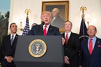 Donald Trump Remarks at Signing of Memorandum on China Trade