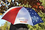 Hofstra commemorative umbrella for Debate 2012
