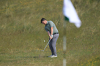 Caolan Rafferty (Dundalk) on the 14th during Round 4 of the East of Ireland Amateur Open Championship sponsored by City North Hotel at Co. Louth Golf club in Baltray on Monday 6th June 2016.<br /> Photo by: Golffile   Thos Caffrey