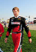 Sept. 28, 2008; Kansas City, KS, USA; Nascar Sprint Cup Series driver Bill Elliott prior to the Camping World RV 400 at Kansas Speedway. Mandatory Credit: Mark J. Rebilas-