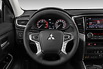Car pictures of steering wheel view of a 2020 Mitsubishi L200 Instyle 4 Door Pick-up Steering Wheel