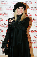 "La cantante Patty Pravo posa sul red carpet per l'anteprima del film ""Mine vaganti"" a Roma,  9 marzo 2010..Italian singer Patty Pravo poses on the red carpet to present the movie ""Mine vaganti"" (""Loose Cannons"") in Rome, 9 march 2010..UPDATE IMAGES PRESS/Riccardo De Luca"