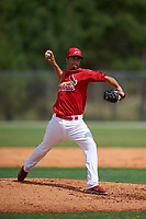 St. Louis Cardinals pitcher Dailyn Martinez (15) during a Minor League Spring Training intrasquad game on March 31, 2016 at Roger Dean Sports Complex in Jupiter, Florida.  (Mike Janes/Four Seam Images)