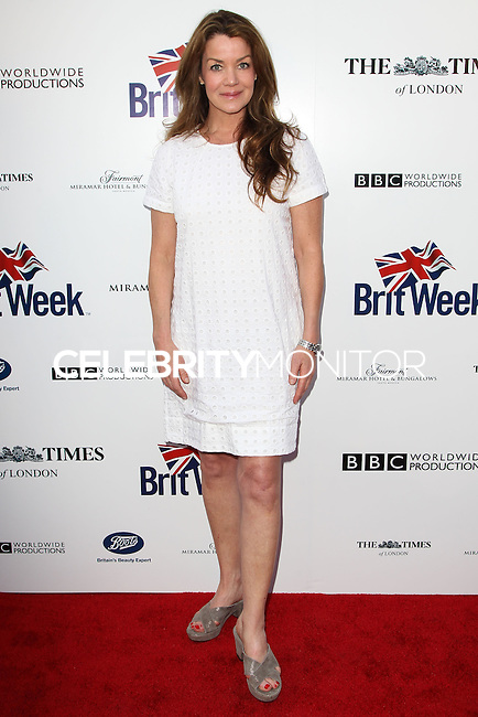 LOS ANGELES, CA, USA - APRIL 22: Claudia Christian at the 8th Annual BritWeek Launch Party on April 22, 2014 in Los Angeles, California, United States. (Photo by Celebrity Monitor)