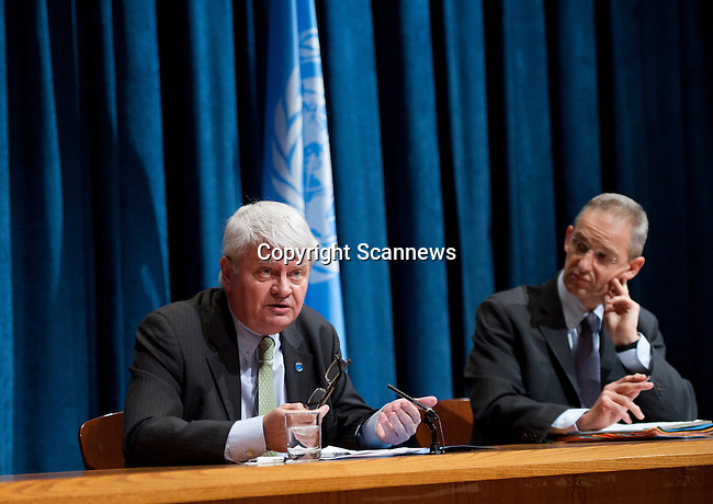 UN_NEW YORK_Mr. Hervé Ladsous, the UN Under-Secretary-General for Peacekeeping Operations..