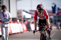 Carl Fredrik Hagen (NOR/Lotto-Soudal) rolling in at the finish<br /> <br /> stage 10 (ITT): Jurançon to Pau (36.2km > in FRANCE)<br /> La Vuelta 2019<br /> <br /> ©kramon