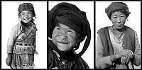 "Selected portraits from the project ""Visions of Walabi,"" photographed in Yunnan, China."