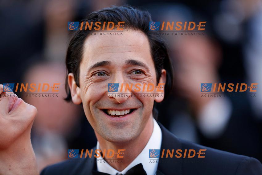 Adrien Brody<br /> Cannes 17-05-2017 70&deg;Edizione Festival del Cinema di Cannes. Cerimonia d'apertura<br /> Foto Panoramic / Insidefoto
