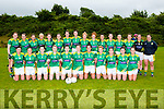 The Kerry team that played Cork in the Munster final in Killarney  Sunday evening