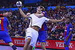 03.12.2016 Barcelona. EHF Champions League Group Phase. Picture show Daniel Narcisse in action during game between FC Barcelona Lassa against Paris Saint-Germain at Palau Blaugrana