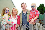 Attending the Sneem Family Festival were Norma and Kevin Long and their children Lily Mai and Samuel.
