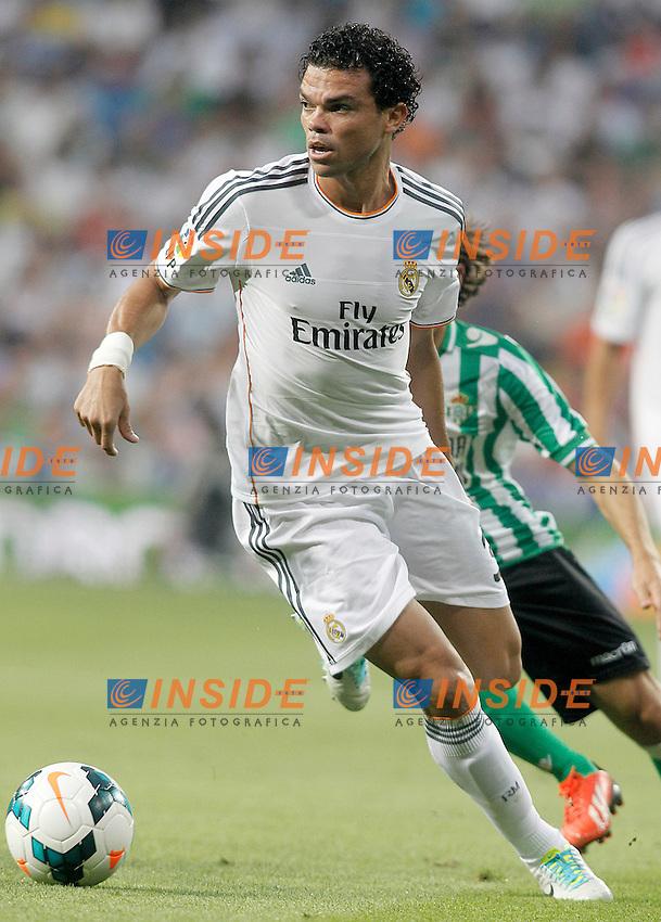 Real Madrid's Pepe during La Liga match.August 18,2013. (ALTERPHOTOS/Acero) <br /> Football Calcio 2013/2014<br /> La Liga Spagna<br /> Foto Alterphotos / Insidefoto <br /> ITALY ONLY