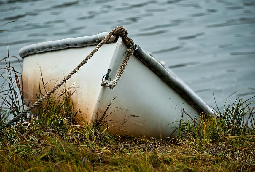 Rowboat, Cape Cod, MA, Massachusetts, , USA